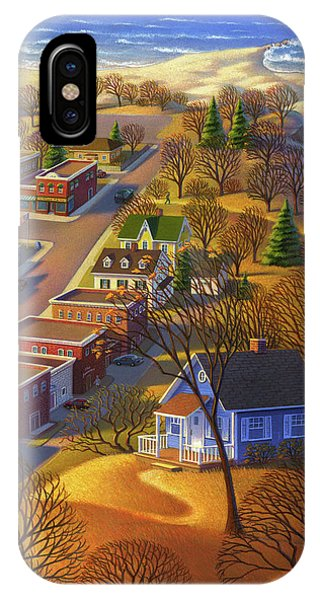 Blueberry Cottage Hill  IPhone Case