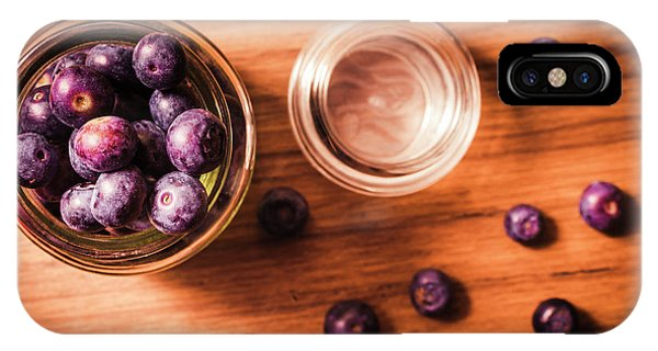 Blue Berry iPhone Case - Blueberry Kitchen Still Life by Jorgo Photography - Wall Art Gallery