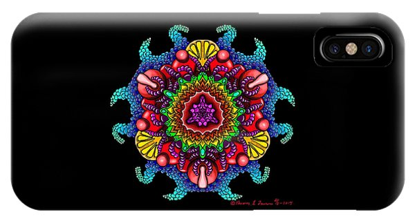 Blueberryflower IPhone Case
