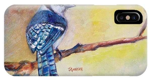 Bluebird Phone Case by Joyce A Guariglia