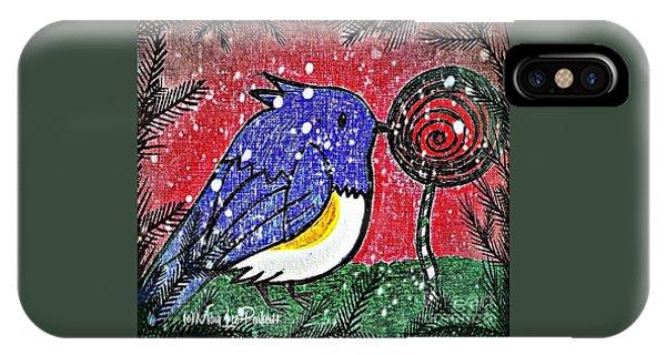 Bluebird Of The Season IPhone Case