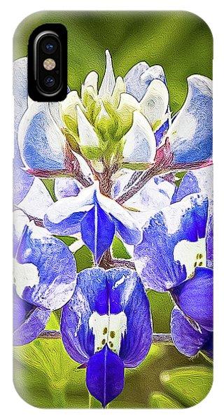 Bluebonnet Cfh1850124-2_hi_rez.jpg IPhone Case
