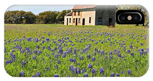Bluebonnet Field IPhone Case