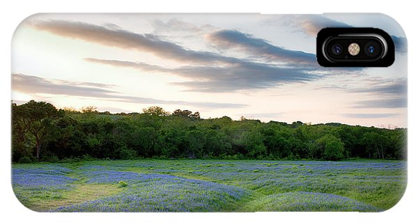Bluebonnet Trail Ennis Texas 2015 V5 IPhone Case