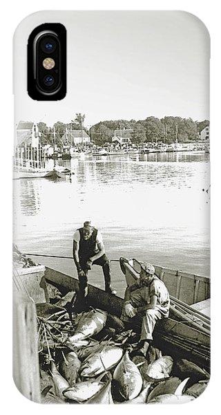 Bluefin Tuna At Barnstable Harbor IPhone Case