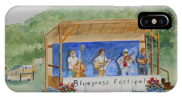 Bluegrass Festival IPhone Case