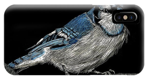 Bluejay IPhone Case