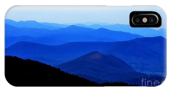Blueridge Mountains - Parkway View IPhone Case