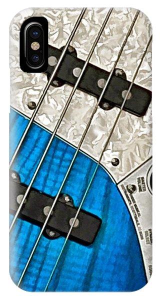 Blues Bass IPhone Case