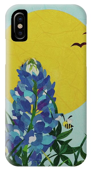 Blues Bees IPhone Case