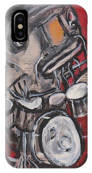 Blues Cat Drums IPhone Case