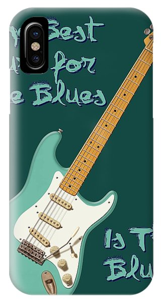Blues Cure Seafoam IPhone Case