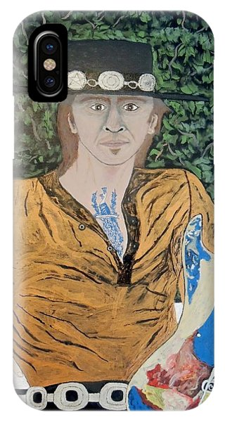 Blues In The Park With Stevie Ray Vaughan. IPhone Case