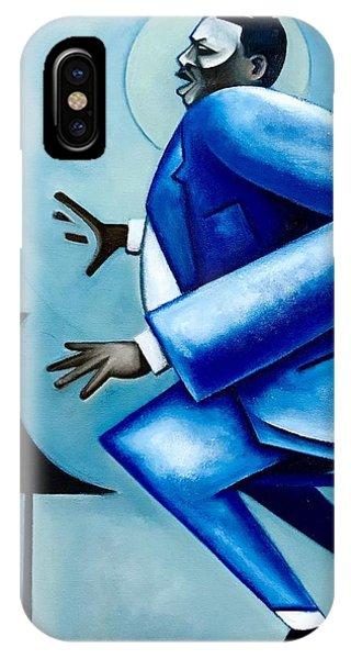 iPhone Case - Blues/ Oscar by Martel Chapman