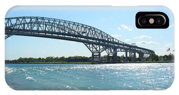 Bluewater Bridges IPhone Case