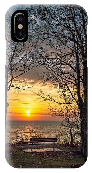 Bluff Bench IPhone Case