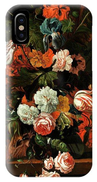 Blumenstillleben IPhone Case