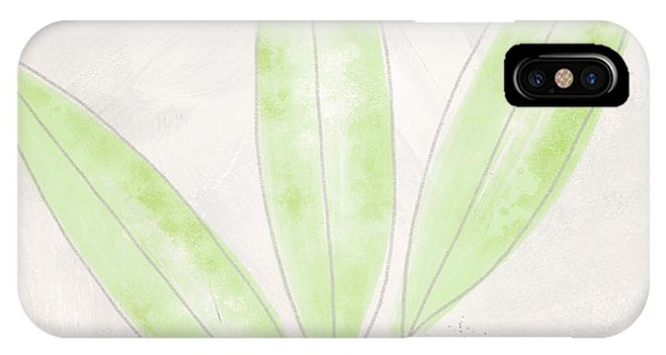 Leaf iPhone Case - Blush Bamboo- Art By Linda Woods by Linda Woods