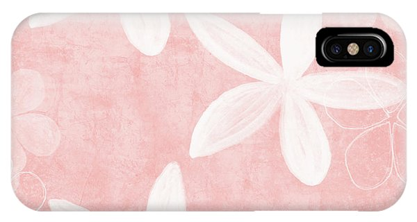 Simple iPhone Case - Blush Blossoms 3- Art By Linda Woods by Linda Woods