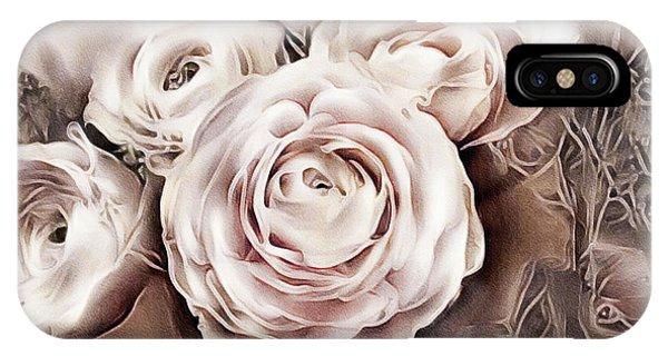 Simple iPhone Case - Blush Pink Ranunculus by Susan Maxwell Schmidt