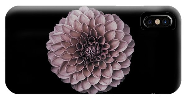 Blushing Dahlia  IPhone Case