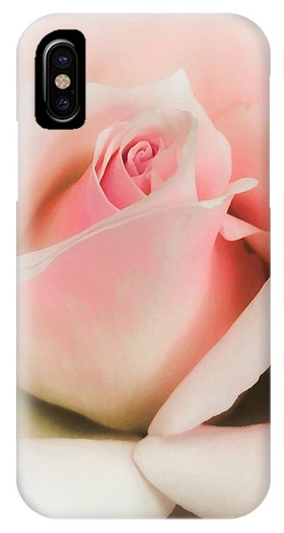 Blushing Petals IPhone Case