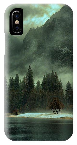 Blustery Yosemite IPhone Case