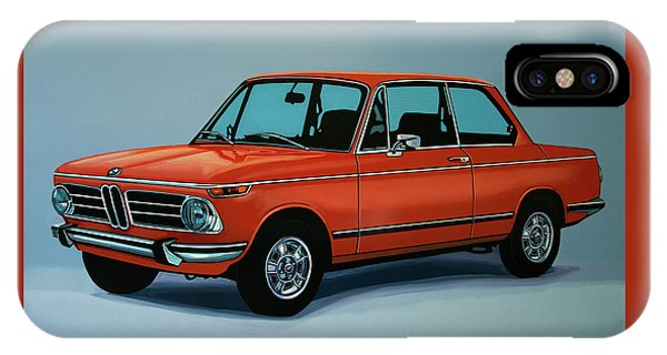 Bmw 2002 1968 Painting IPhone Case