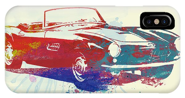 American Cars iPhone Case - Bmw 507 by Naxart Studio