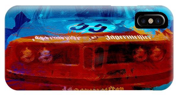 Car iPhone Case - Bmw Jagermeister by Naxart Studio