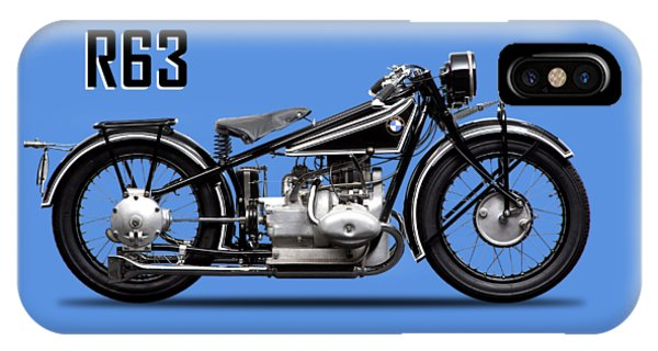 Movement iPhone Case - The R63 Motorcycle by Mark Rogan