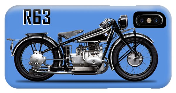 Transportation iPhone Case - The R63 Motorcycle by Mark Rogan