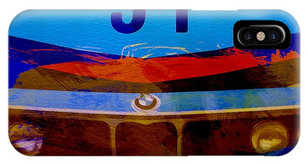 Car iPhone Case - Bmw Racing Colors by Naxart Studio