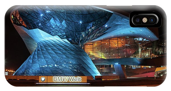 Factory iPhone Case - Bmw Welt by Smart Aviation