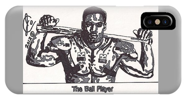Bo Jackson The Ball Player IPhone Case