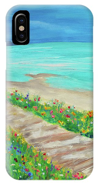 Boardwalk In Carmel IPhone Case