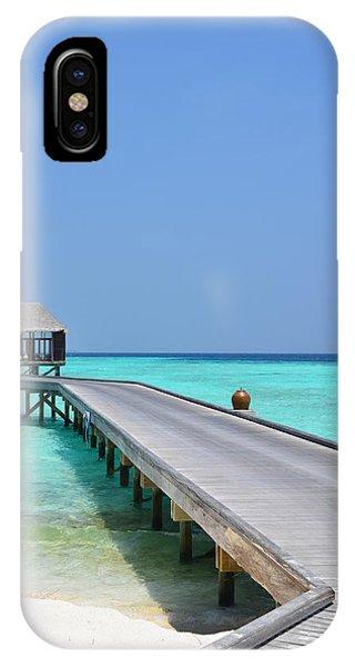 Boardwalk In Paradise IPhone Case