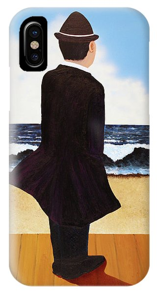 Boardwalk Man IPhone Case