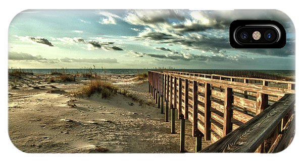 Boardwalk On The Beach IPhone Case