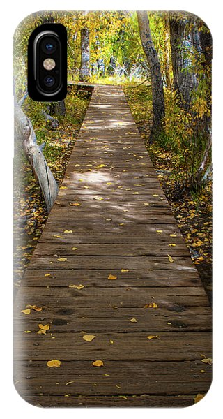 Boardwalk Over Convict Creek IPhone Case
