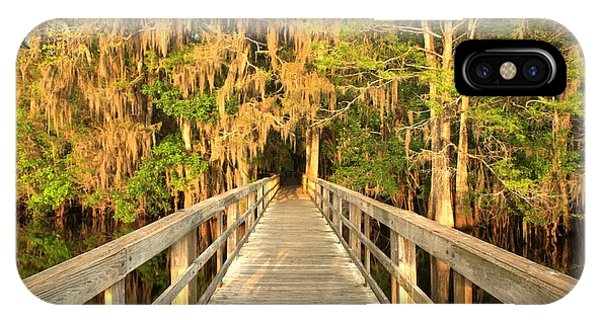 Boardwalk Through The Cypress IPhone Case