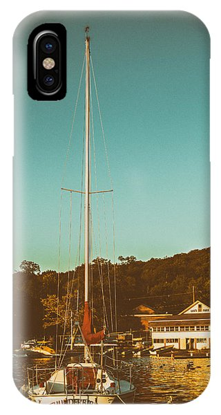 Boat At Lees Park IPhone Case