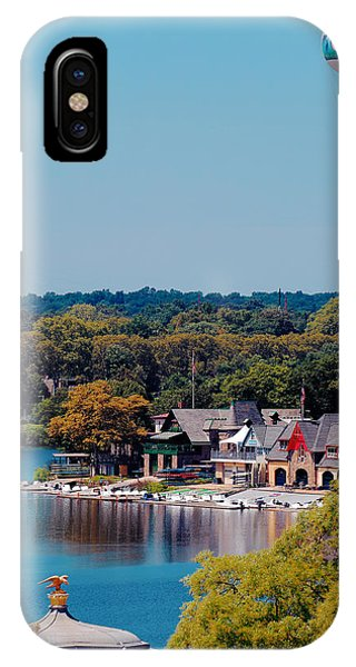 Boat House Row IPhone Case