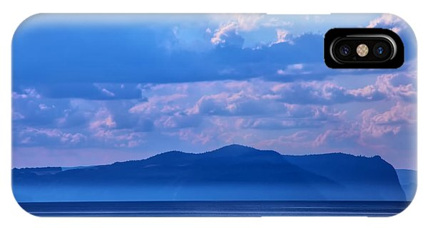 Boat In Lake IPhone Case