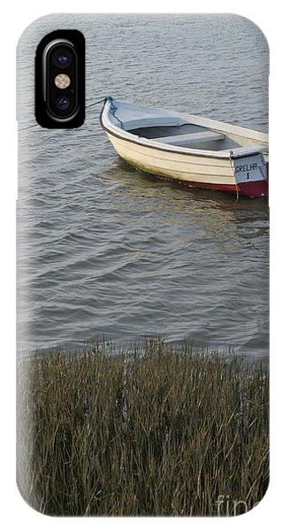 Boat In Ria Formosa - Faro IPhone Case