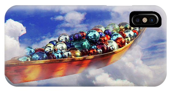 Boat In The Clouds IPhone Case