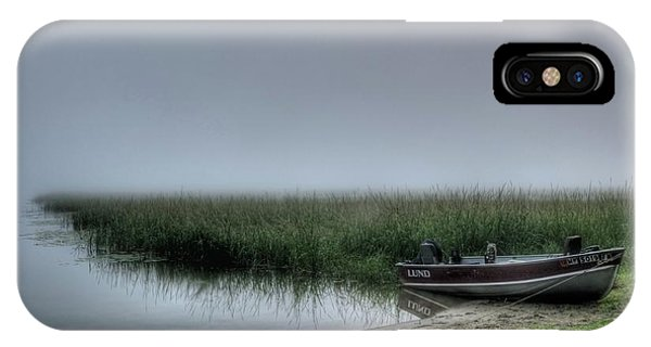 Boat In The Fog IPhone Case