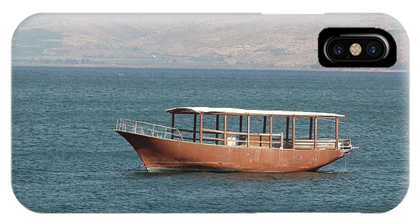 Boat On Sea Of Galilee IPhone Case