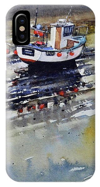 iPhone Case - Boat Reflections by Paul Dene Marlor