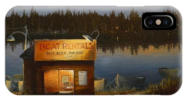 Boat Rentals IPhone Case